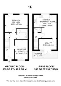Large floorplan for Bemerton Street, King's Cross, N1