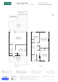 Large floorplan for Calgary Court, Rotherhithe, SE16