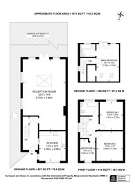 Large floorplan for Carisbrooke Road, Bromley, BR2