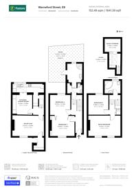 Large floorplan for Warneford Street, Victoria Park, E9