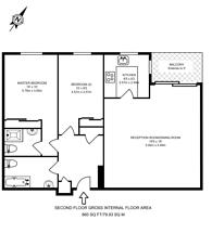 Large floorplan for Backchurch Lane, Aldgate, E1