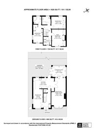 Large floorplan for Cat Hill, East Barnet Village, EN4