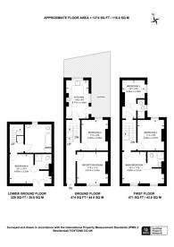 Large floorplan for Salmon Lane, Limehouse, E14