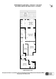Large floorplan for Holland Road, Holland Park, W14