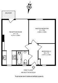 Large floorplan for Finn House, Bevenden Street, Hoxton, N1