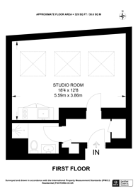 Large floorplan for Talbot Road, Portobello, W11