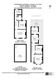 Large floorplan for Portway, E15, Stratford, E15
