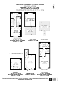Large floorplan for Princess Mews, Belsize Park, NW3