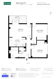 Large floorplan for Mintern Street, Hoxton, N1