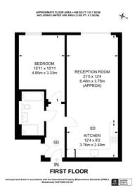 Large floorplan for Drummond Street, Euston, NW1
