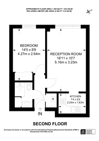 Large floorplan for Jews Walk, Sydenham, SE26