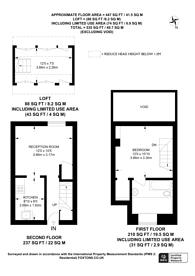 Large floorplan for Clifton Grove, Dalston, E8