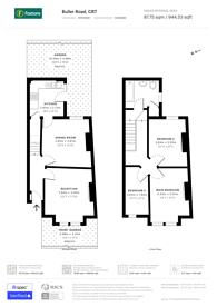 Large floorplan for Buller Road, CR7, Thornton Heath, CR7