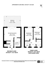 Large floorplan for Bruges Place, Camden, NW1