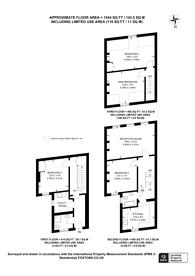 Large floorplan for Garfield Road, Twickenham, TW1
