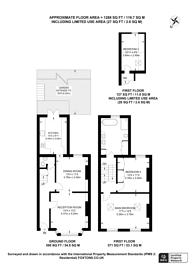 Large floorplan for Fassett Road, Hackney, E8