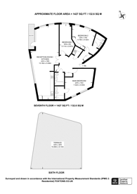 Large floorplan for Dickens Yard, Ealing, W5