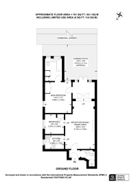 Large floorplan for Sheen Road, Richmond, TW10
