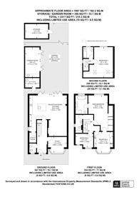 Large floorplan for Manor Drive North, Worcester Park, KT4