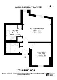 Large floorplan for Charing Cross Road, Covent Garden, WC2H