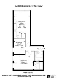 Large floorplan for Mount Pleasant, Alperton, HA0
