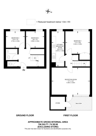 Large floorplan for Albany Street, Camden, NW1