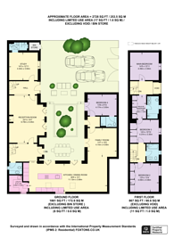 Large floorplan for Barnes Avenue, Barnes, SW13