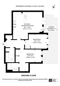 Large floorplan for Malvern Road, Queen's Park, NW6
