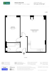 Large floorplan for Kingsland Road, Haggerston, E8