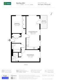 Large floorplan for West Row, Ladbroke Grove, W10
