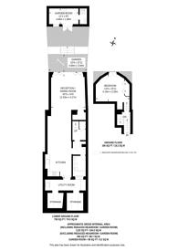 Large floorplan for Church Street, St John's Wood, NW8