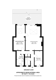 Large floorplan for Winston Court, Harrow, HA3