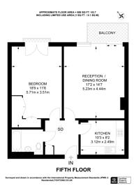 Large floorplan for Artillery Mansions, Victoria, SW1H