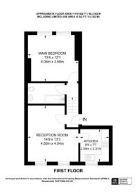 Large floorplan for Huron Road, Balham, SW17