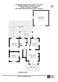Large floorplan for Lower Road, Harrow, HA2