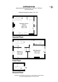 Large floorplan for Mortlake High Street, Mortlake, SW14