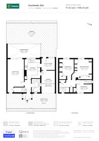 Large floorplan for Courtlands, Maidenhead, SL6