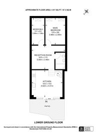 Large floorplan for Huntingdon Street, Islington, N1