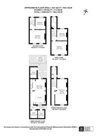 Large floorplan for Caledonian Road, Islington, N1