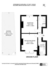 Large floorplan for Wordsworth Road, SE20, Penge, SE20