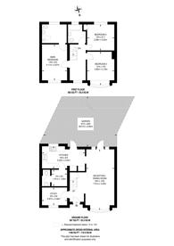 Large floorplan for Aspen Gardens, Mitcham, CR4