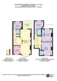 Large floorplan for Oakhill Avenue, Hampstead, NW3