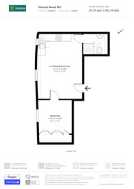 Large floorplan for Victoria Road, Finsbury Park, N4