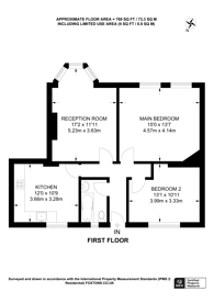 Large floorplan for Lordship Terrace, Stoke Newington, N16