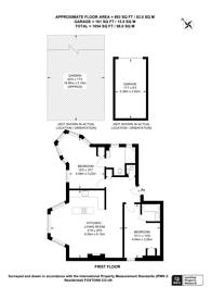 Large floorplan for Mapesbury Road, Mapesbury Estate, NW2