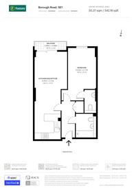 Large floorplan for Borough Road, Borough, Borough, SE1