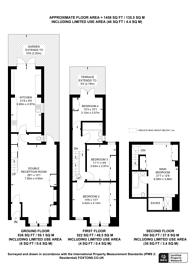 Large floorplan for Allestree Road, Fulham, SW6