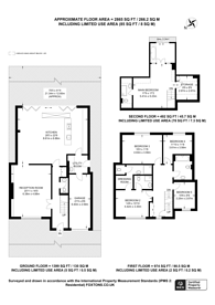 Large floorplan for Barnfield Road, Croydon, CR2