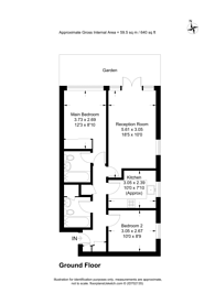 Large floorplan for Parkside, Wimbledon, SW19