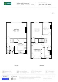 Large floorplan for Hobbs Place Estate, Hoxton, N1